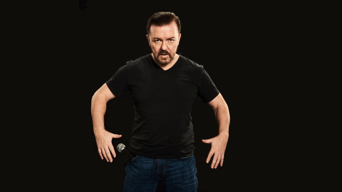 Ricky Gervais - Supernature London Palladium Seating Plan