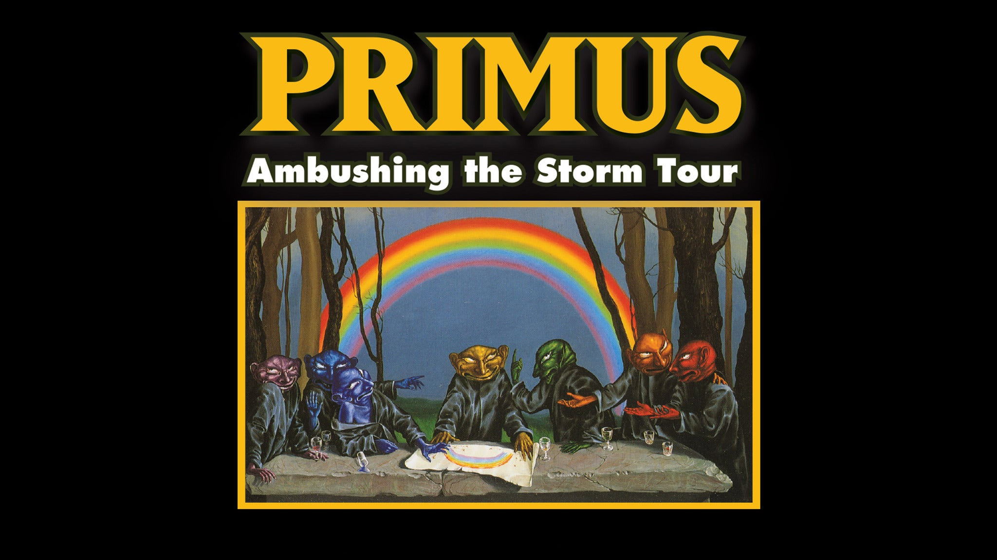Primus: The Ambushing The Storm Tour at The Wiltern - Los Angeles, CA 90010