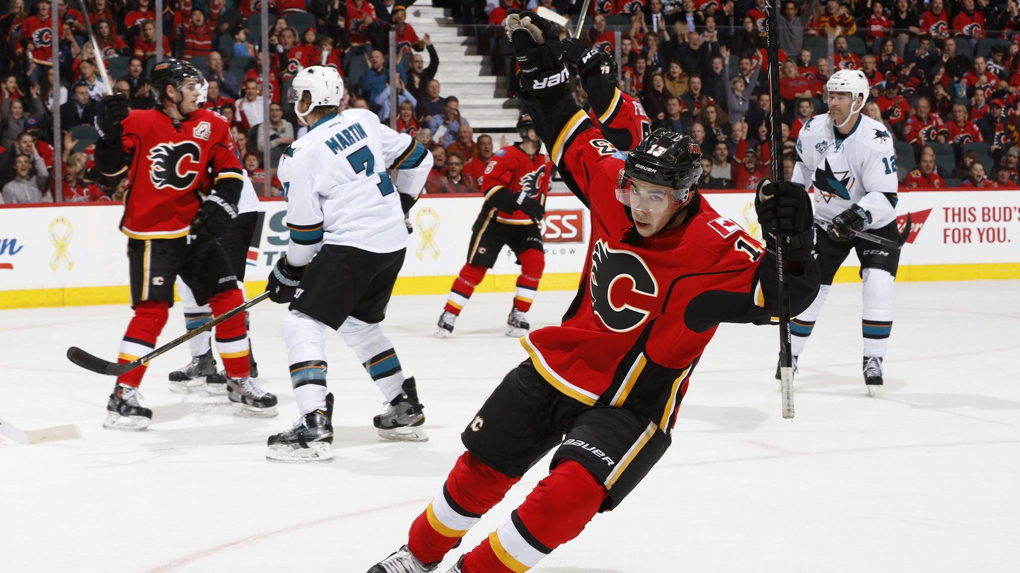 Calgary Flames vs. Anaheim Ducks at Scotiabank Saddledome