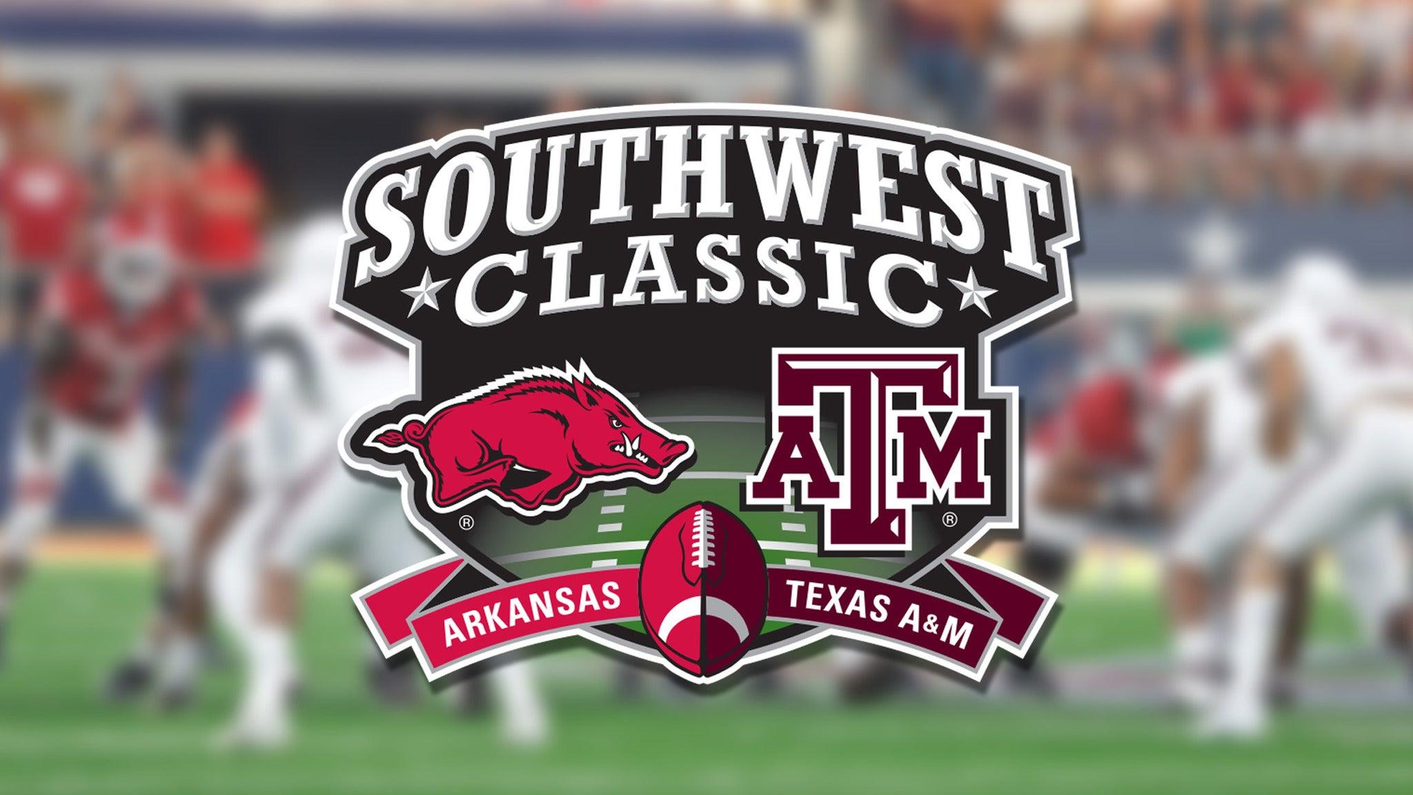 Southwest Classic vs. Arkansas Razorbacks Football