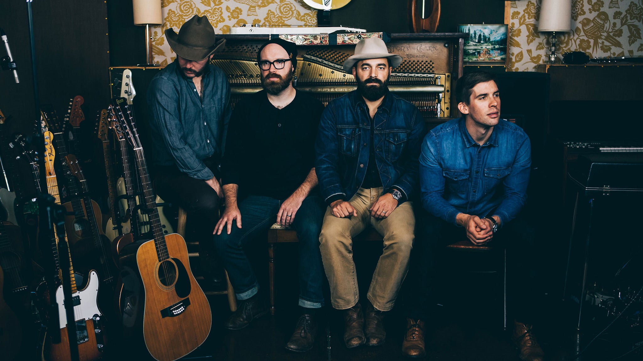 Drew Holcomb and the Neighbors at Druid City Music Hall