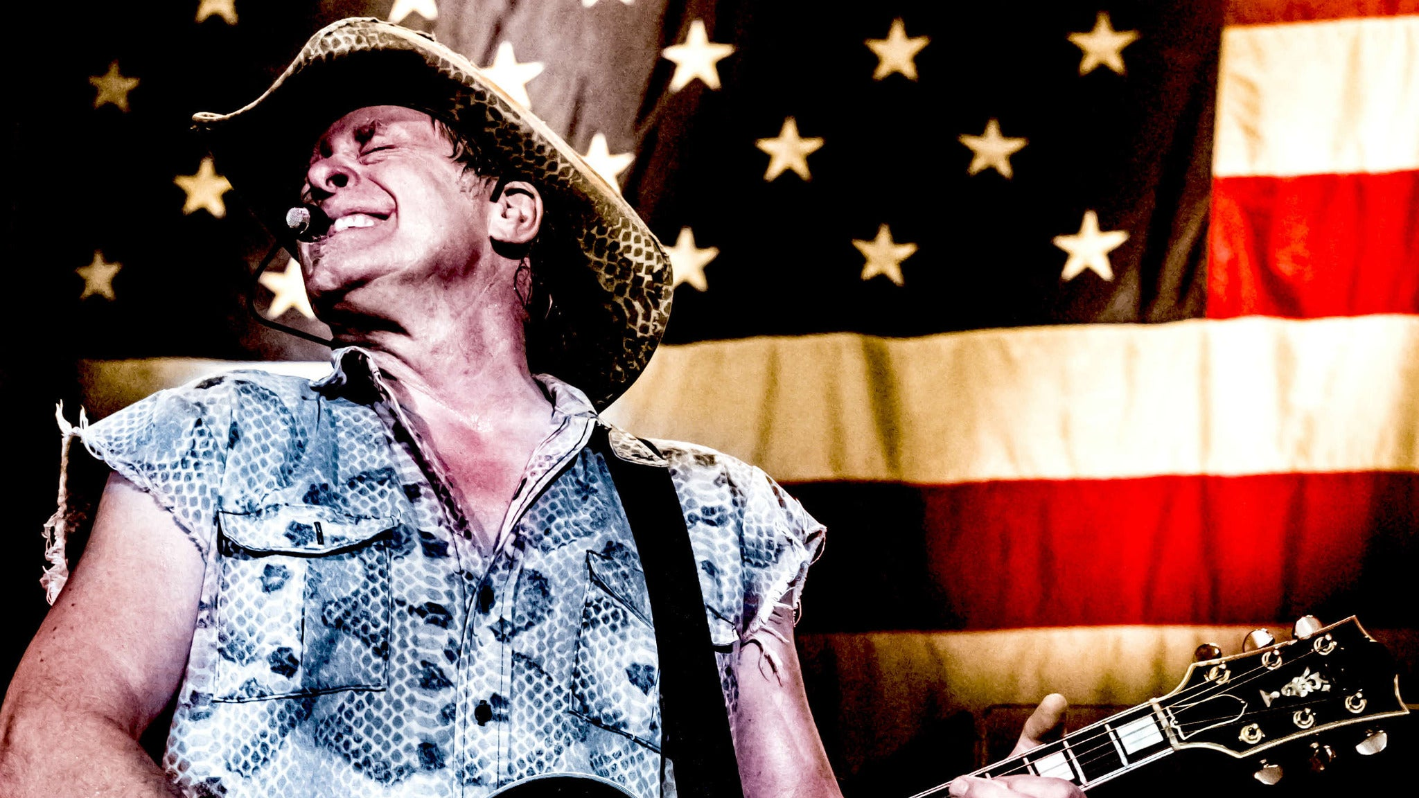 Ted Nugent at Star Plaza Theatre