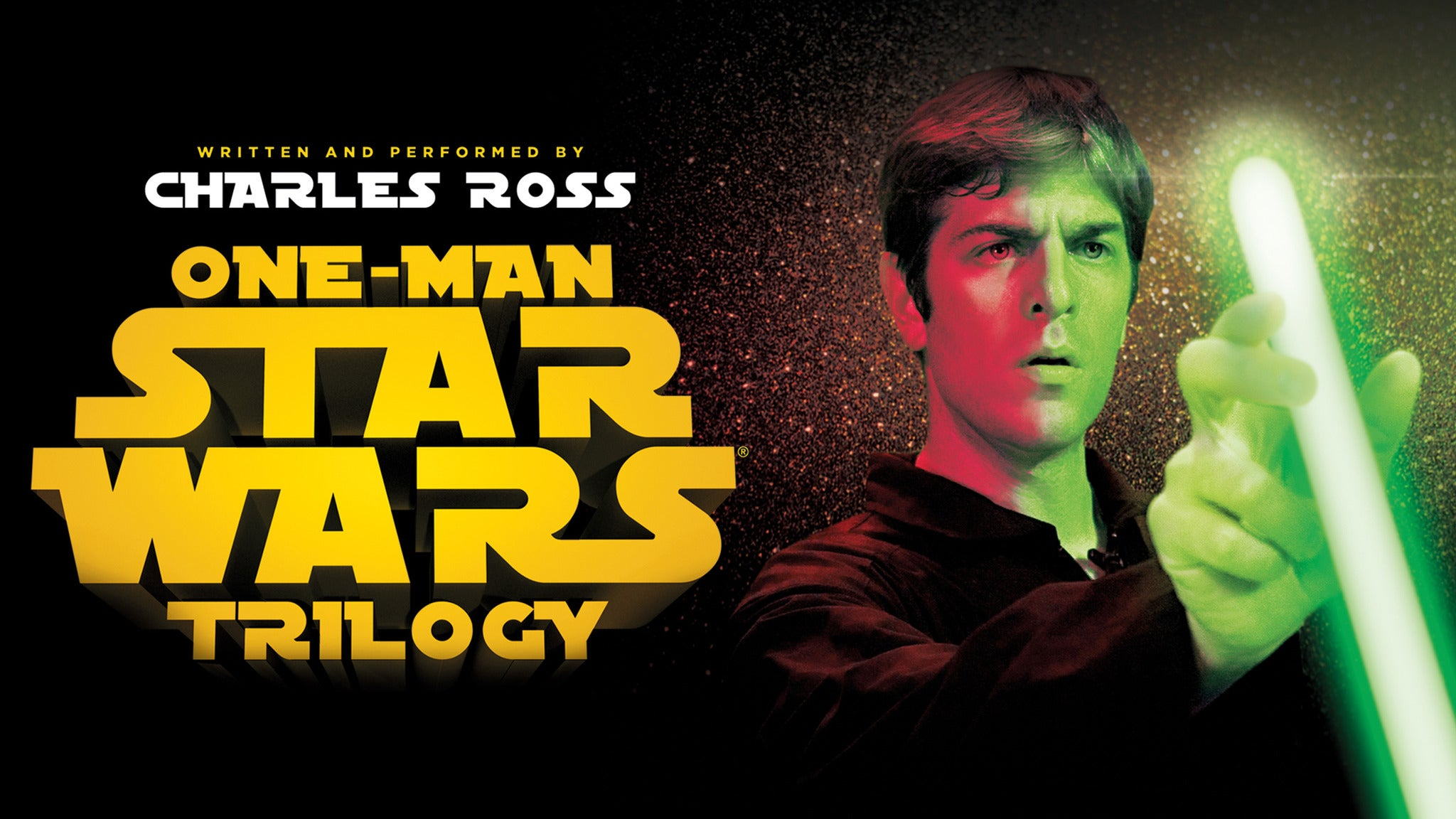 One Man Star Wars Trilogy at Foster Family Theater