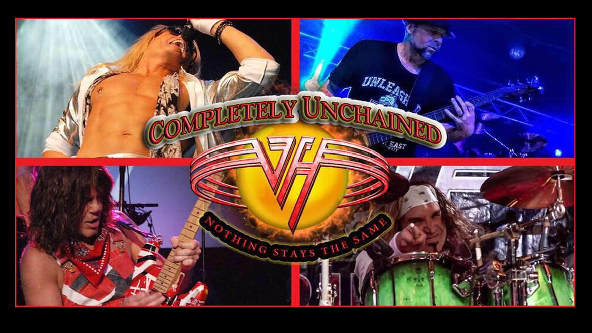 Completely Unchained - Van Halen Tribute at Revolution Live