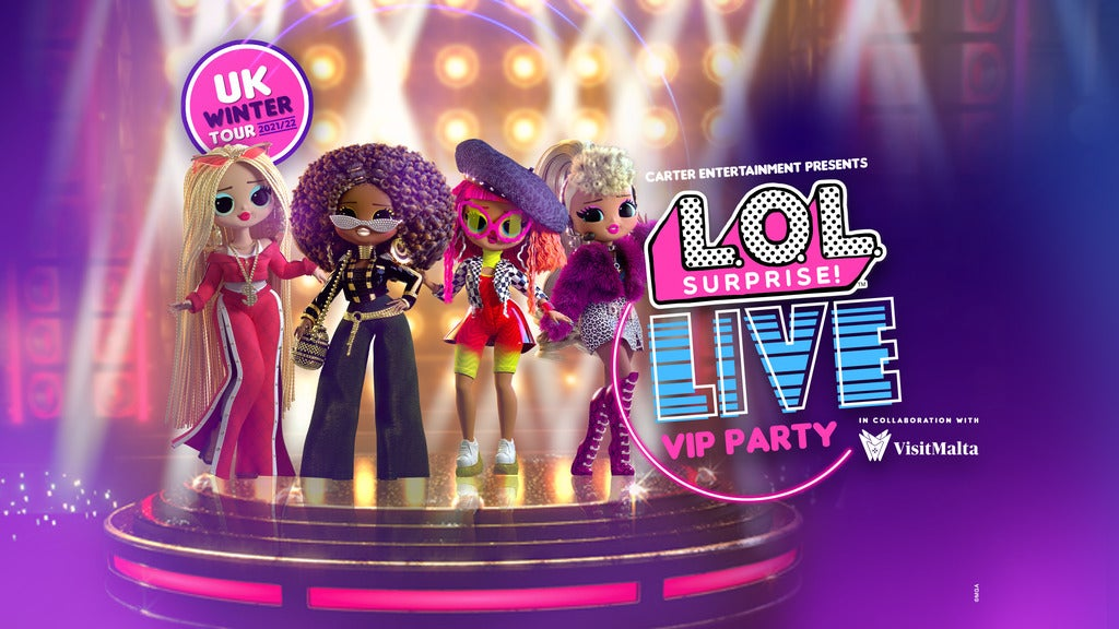 L.O.L. Surprise! Live SSE Arena Wembley Seating Plan
