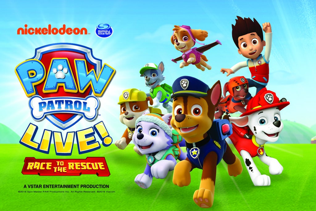 PAW Patrol Live!: Race to the Rescue 1
