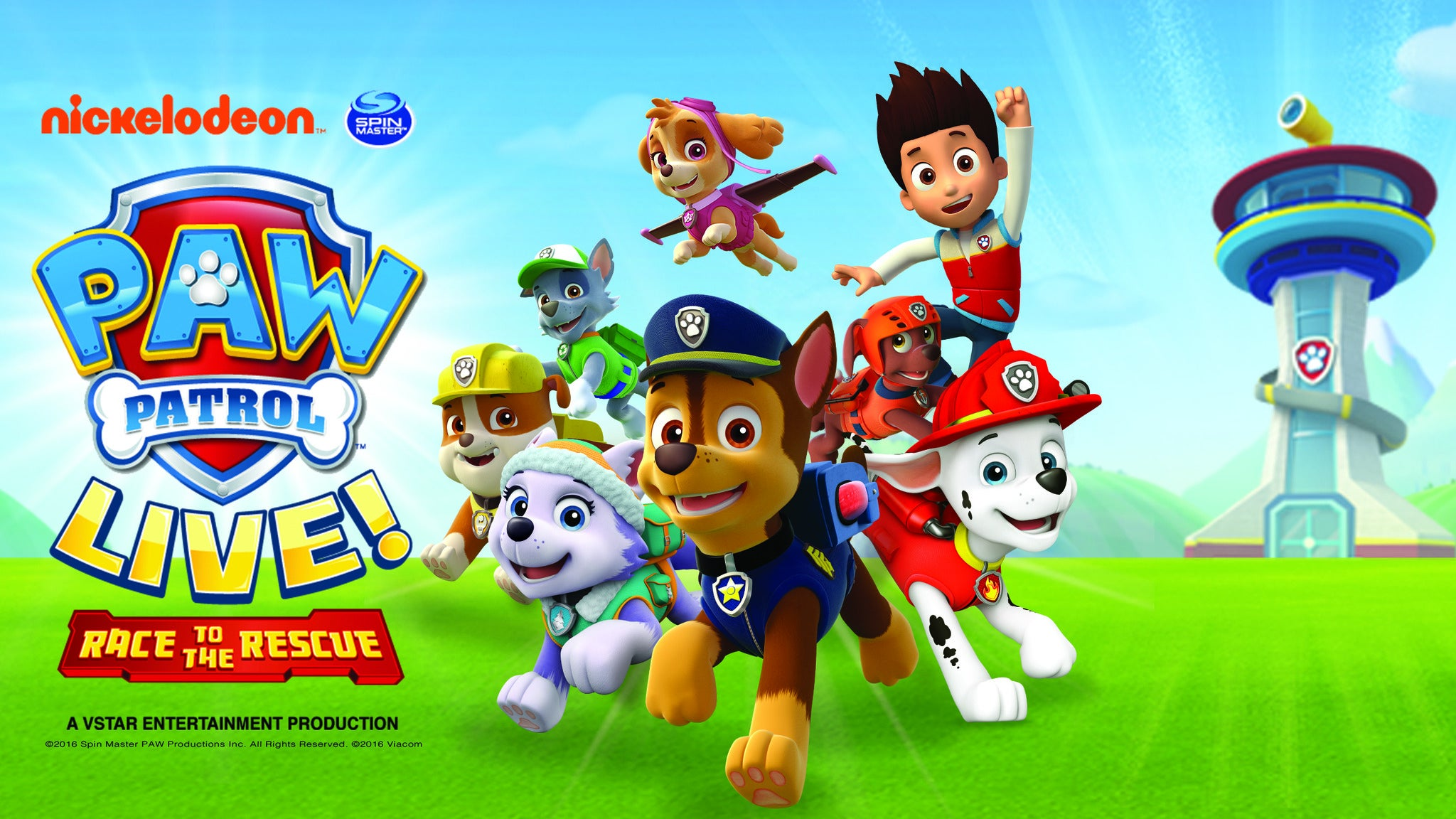 PAW Patrol Live!: Race to the Rescue at Adler Theatre
