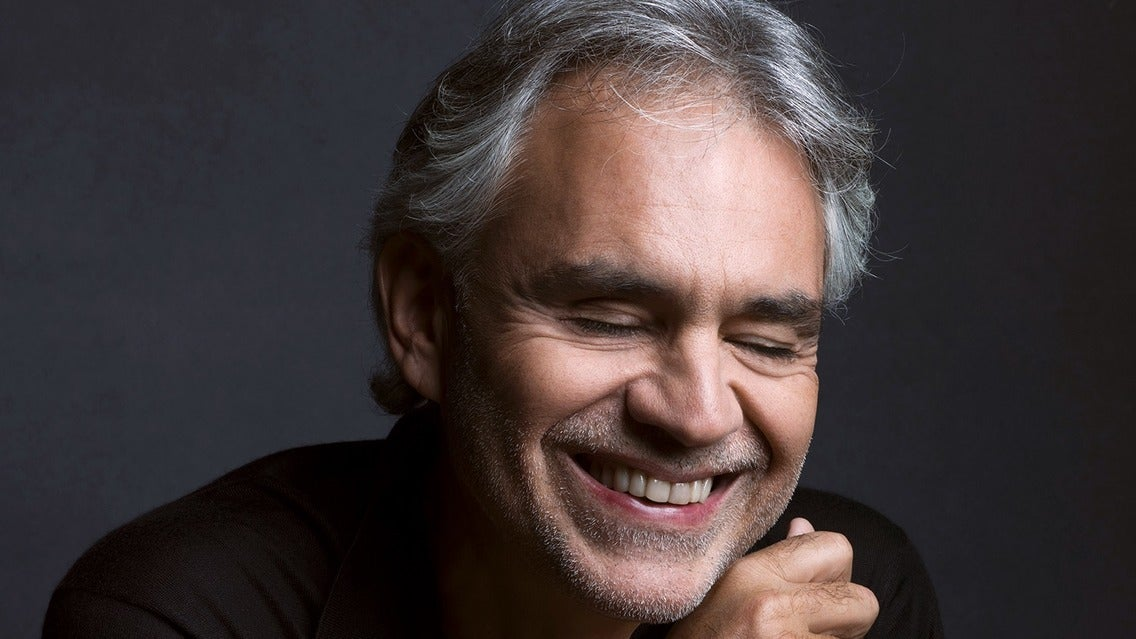 Andrea Bocelli tickets (Copyright © Ticketmaster)