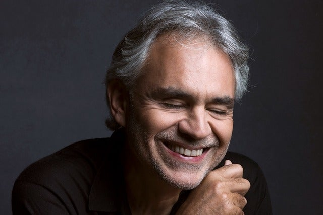 Andrea Bocelli Seating Plans