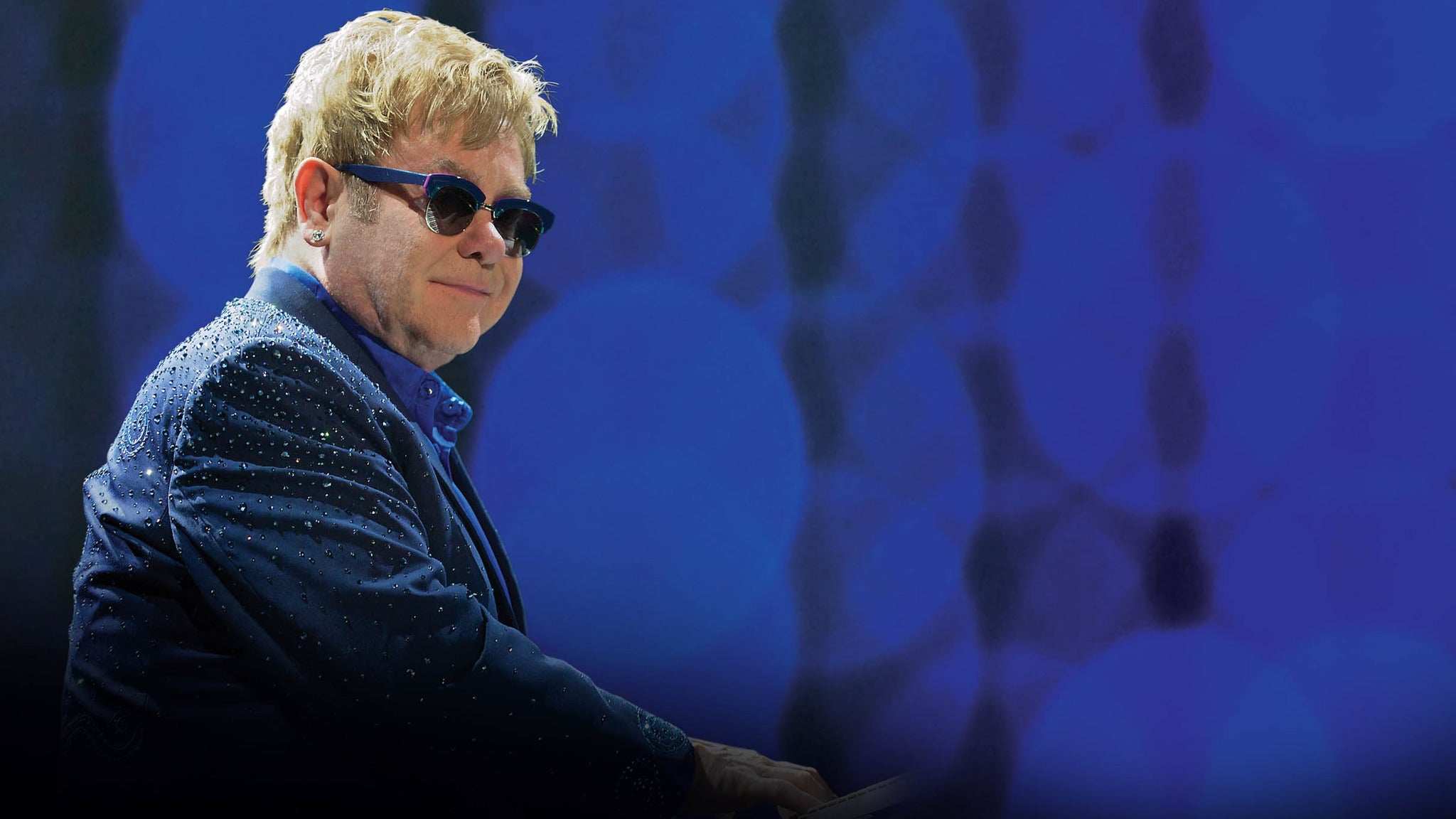Elton John With His Band at Ford Center