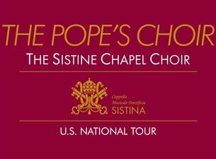 The Sistine Chapel Choir - (The Pope's Choir)