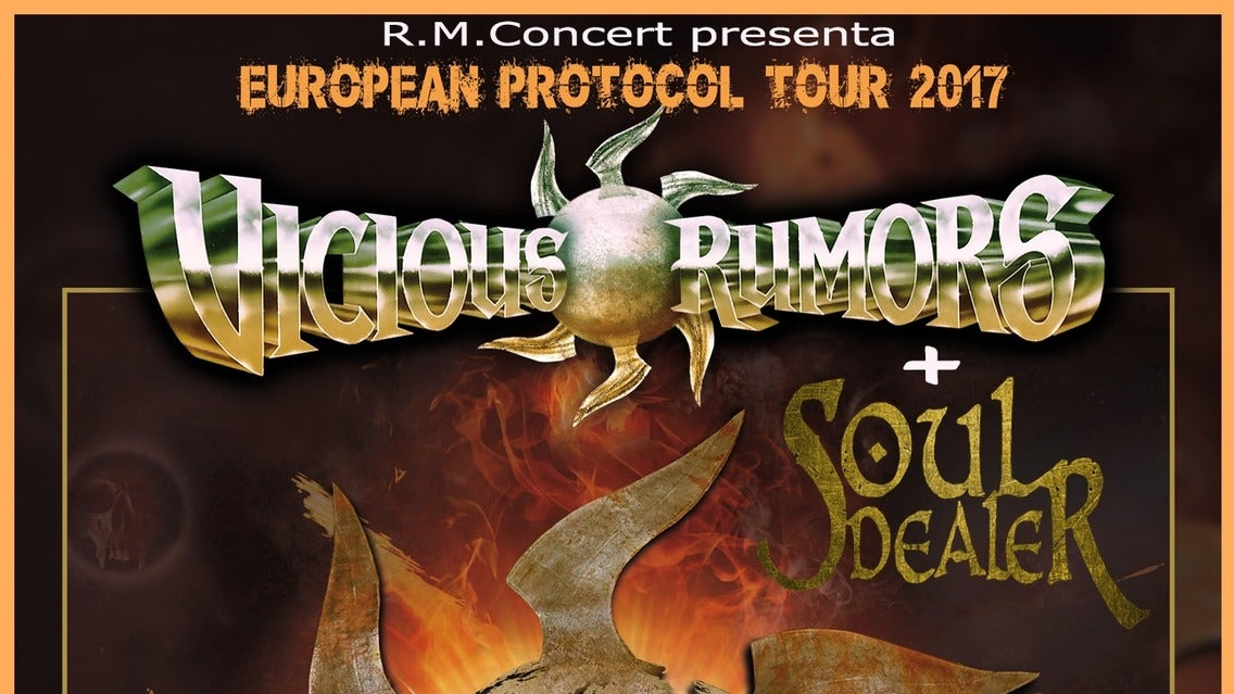 Flotsam & Jetsam 2nd Stage Ft., Cloven Hoof, Vicious Rumors, Voodoo Te