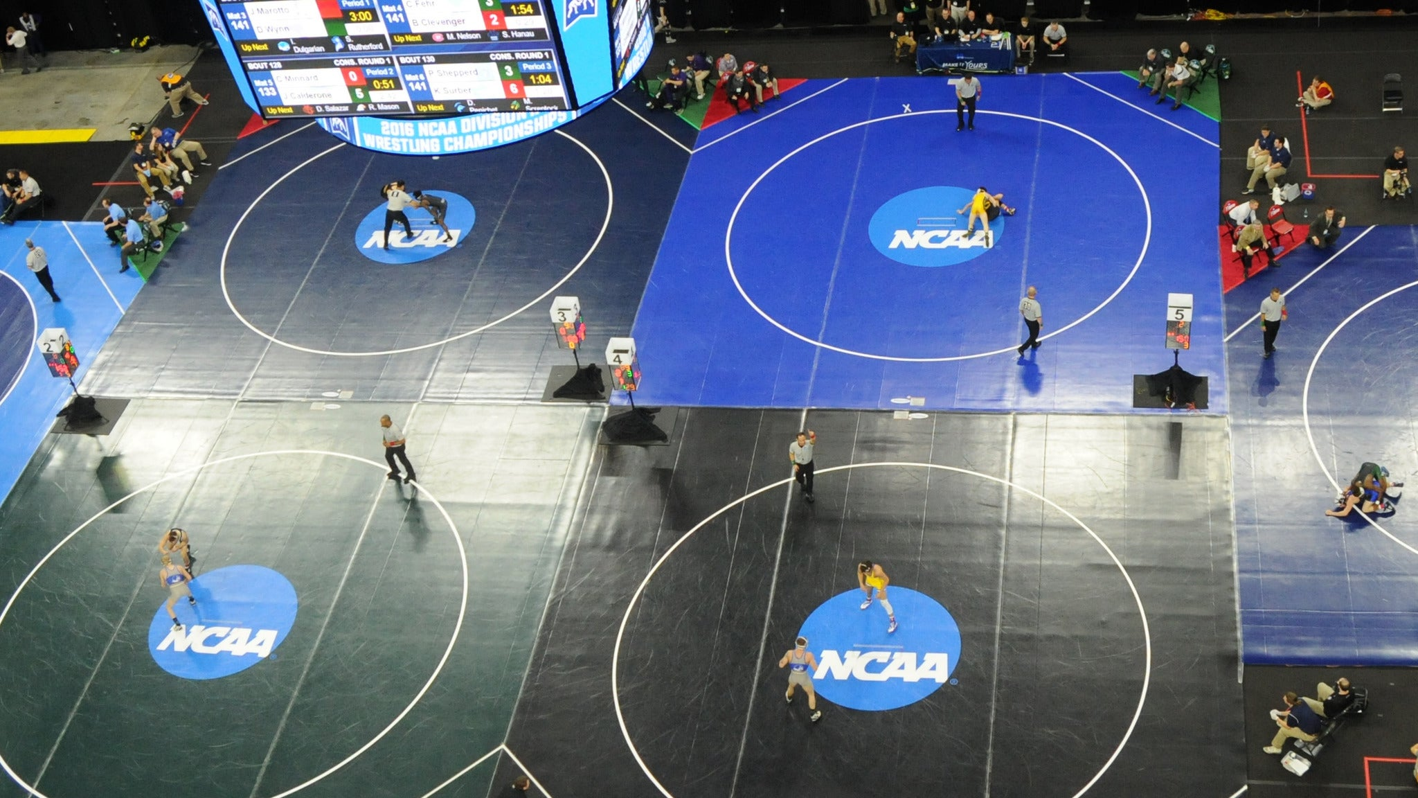 2020 NCAA DII Wrestling Championships All-Session