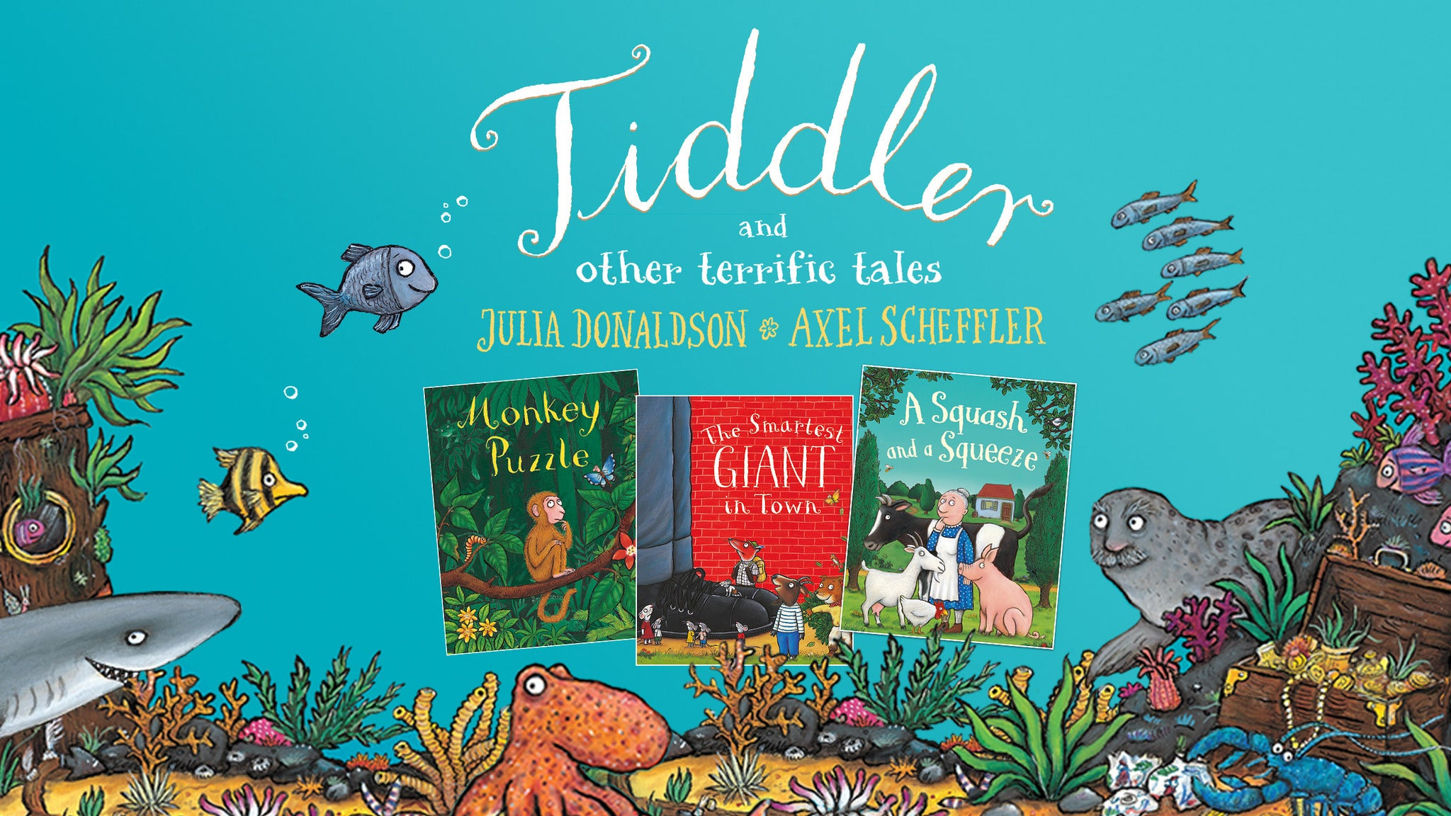 Tiddler and Other Tales Event Title Pic