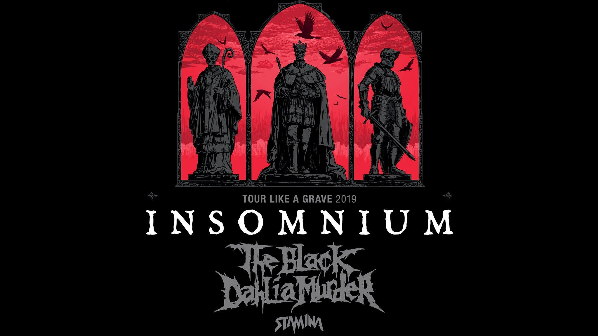 Insomnium, Omnium Gatherum, Seven Spires, Negative Sixx