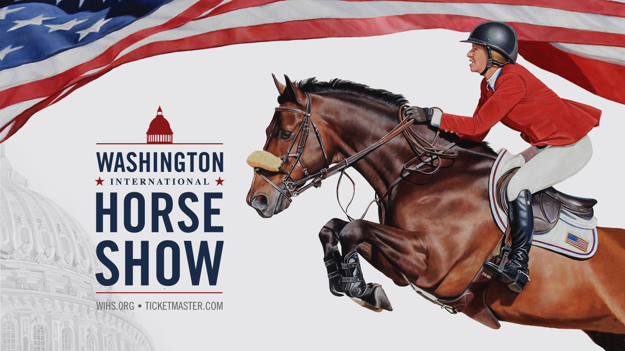 Washington International Horse Show - Anytime Package