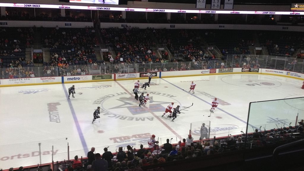 Hotels near Allen Americans Events