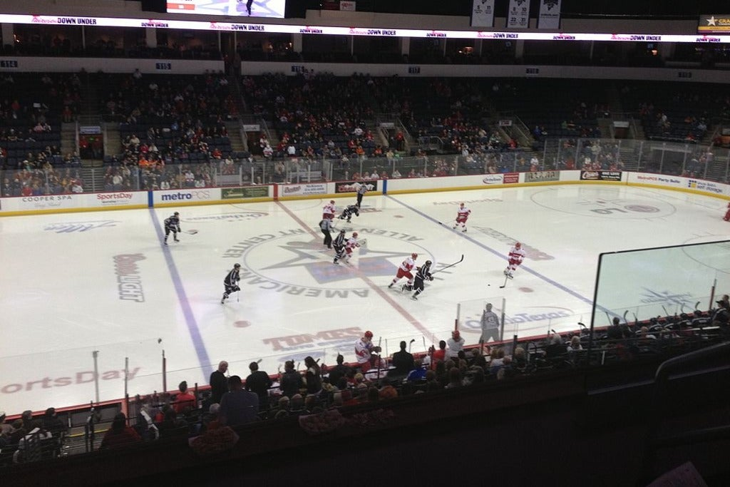 Allen Americans vs. Tulsa Oilers at Allen Event Center