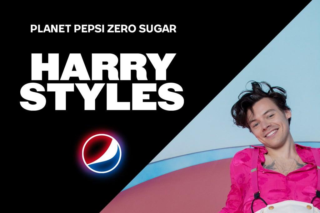 Planet Pepsi® Zero Sugar With Harry Styles
