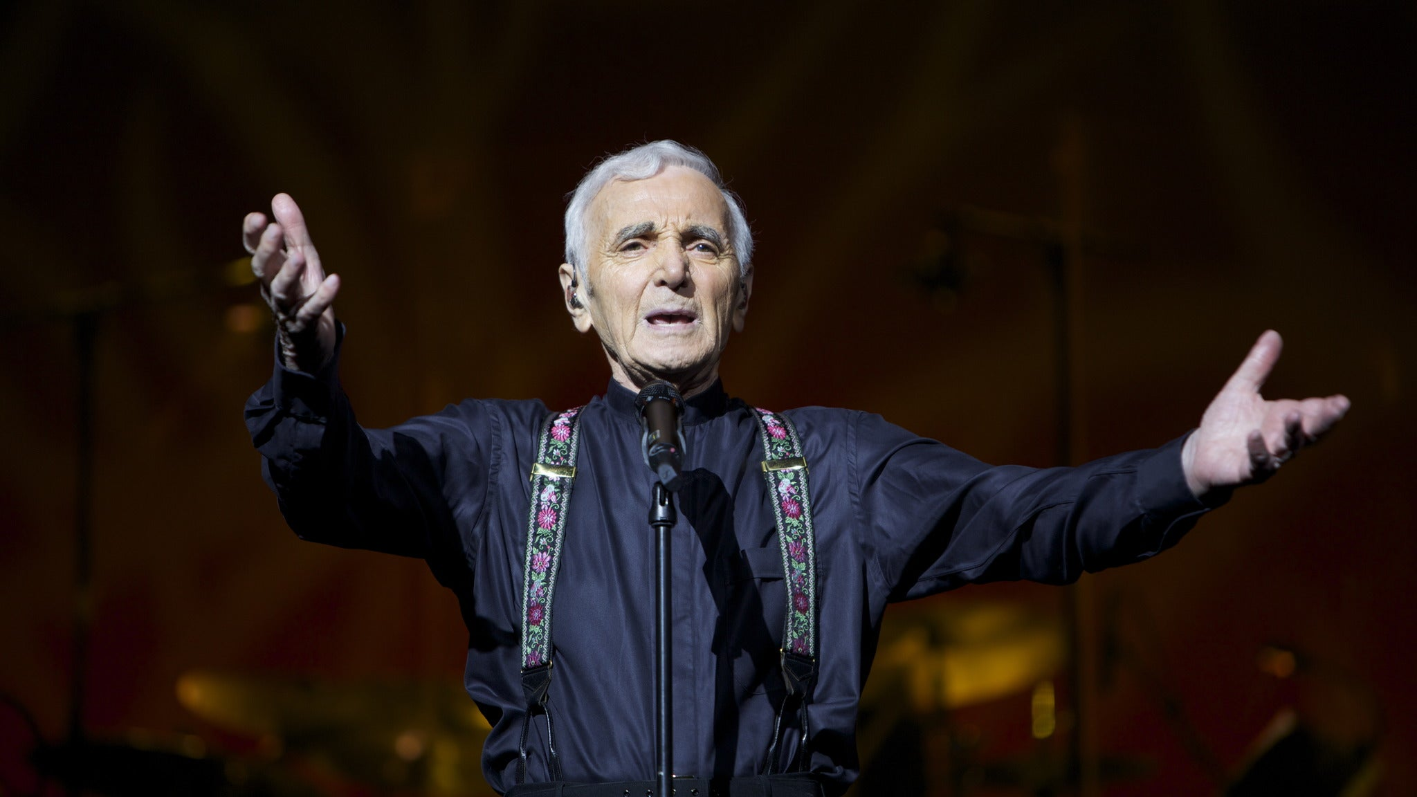 Charles Aznavour at Hollywood Pantages Theatre