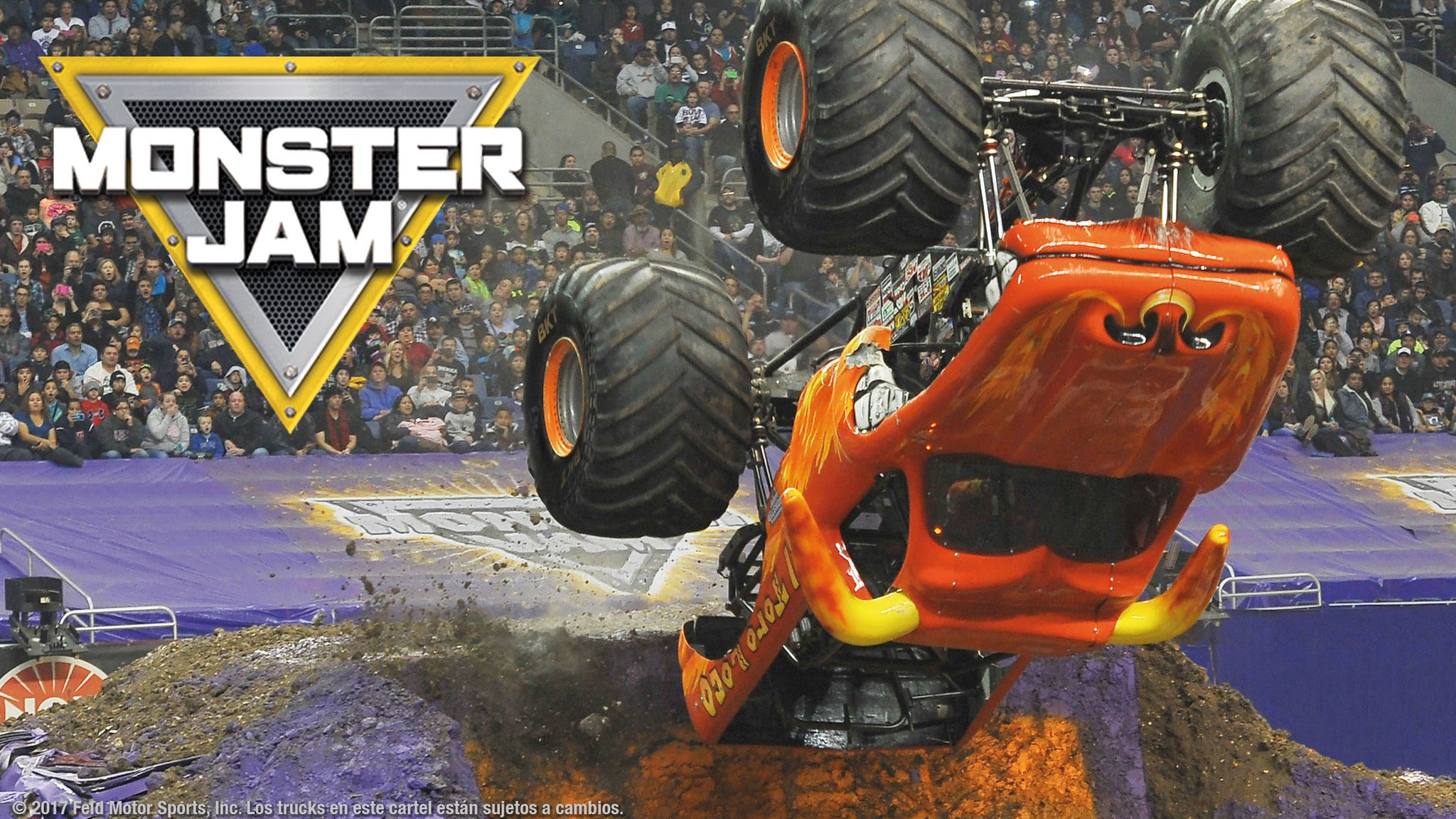 Monster Jam at Oakland Alameda County Coliseum - Oakland, CA 94621