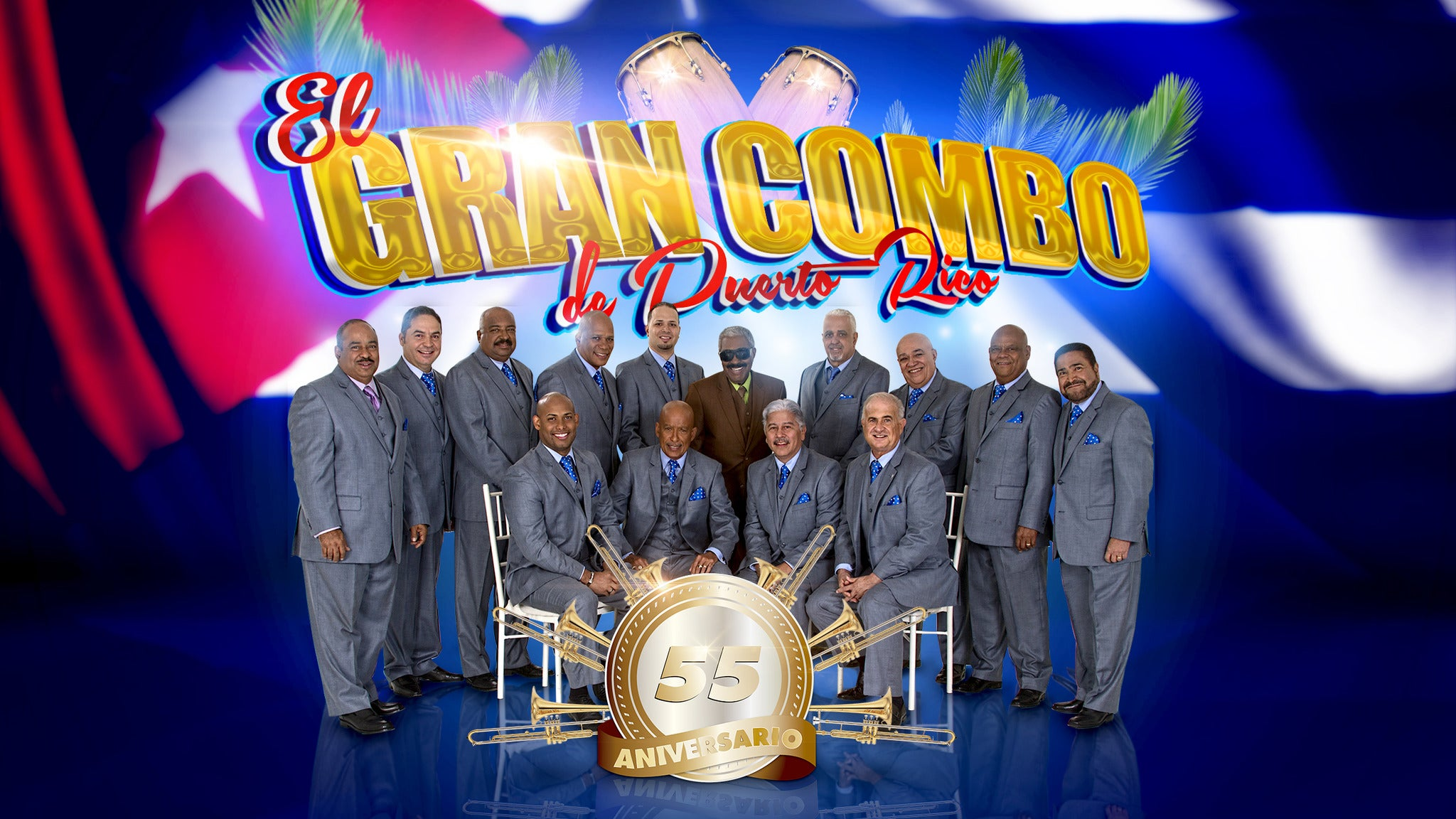 El Gran Combo De Puerto Rico at Tropicana Showroom
