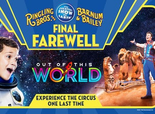 tickets to ringling bros and barnum and bailey presents out of this world richmond coliseum. Black Bedroom Furniture Sets. Home Design Ideas