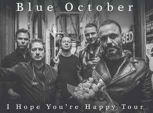 Blue October - Get Back Up 2020 Tour