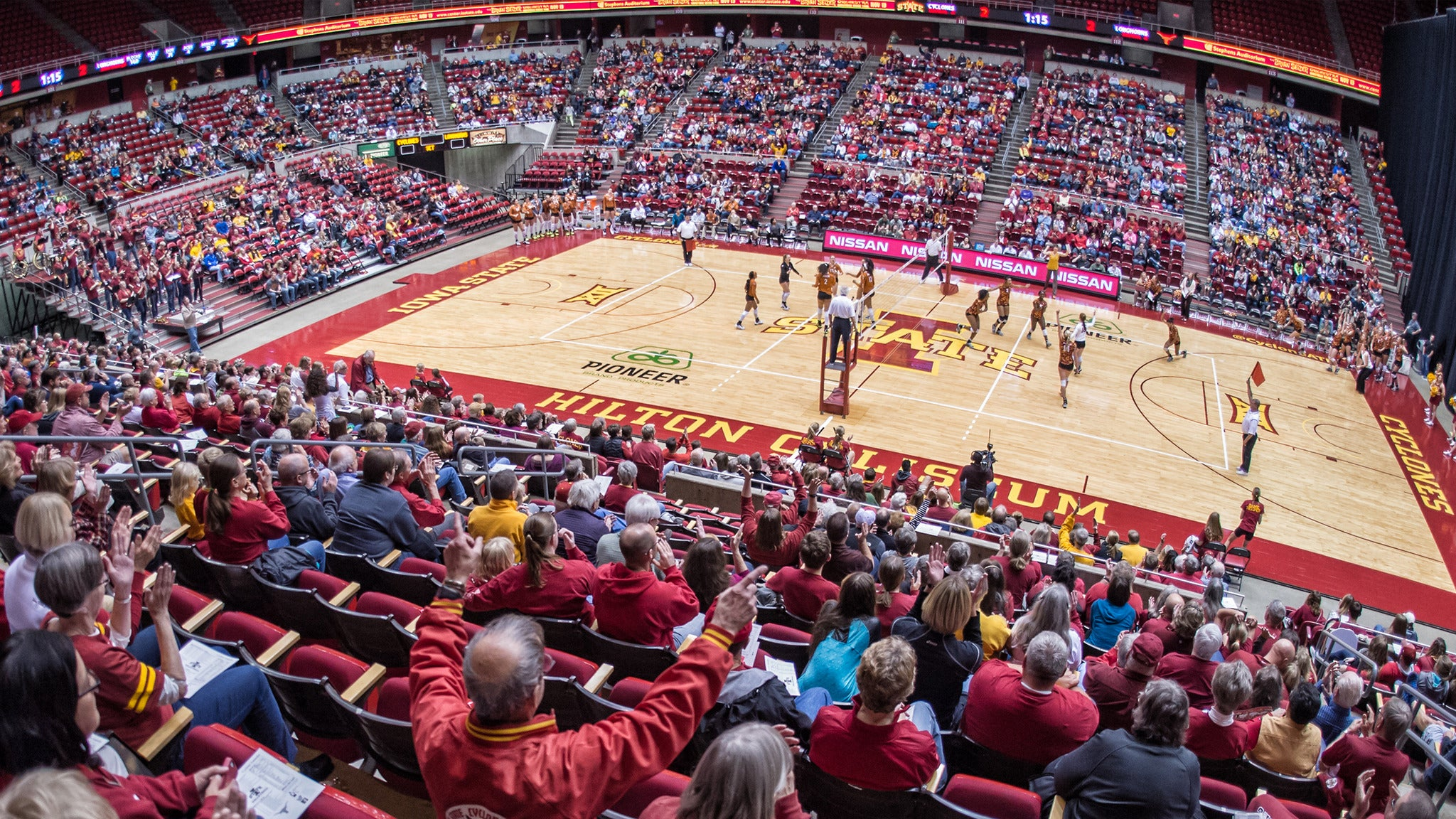 ISU Cyclones Volleyball v. Texas Tech - Ames, IA 50011