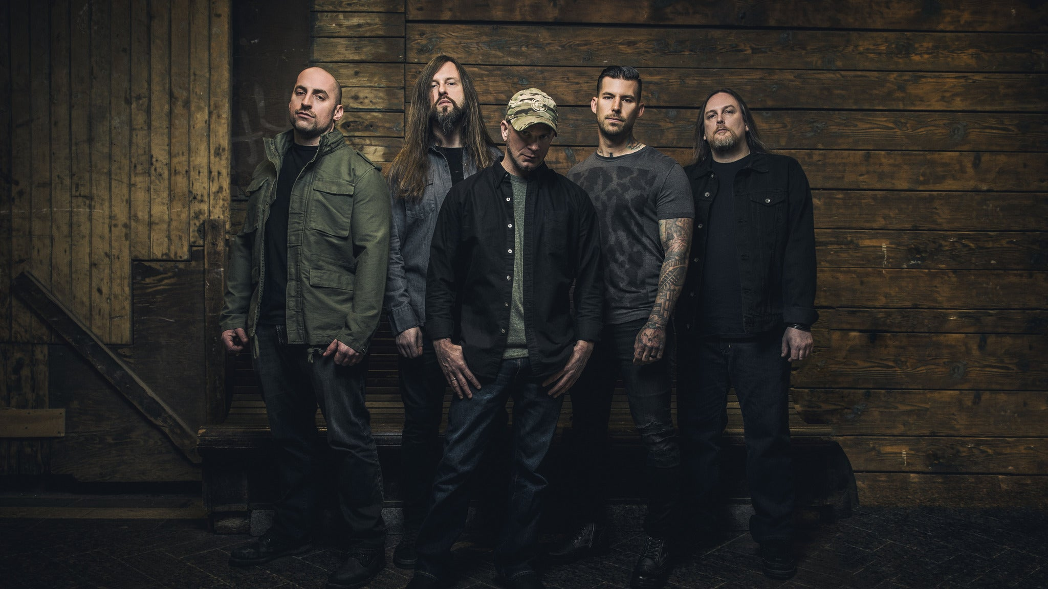 All That Remains, Toothgrinder, Escape the Paradigm, Gears