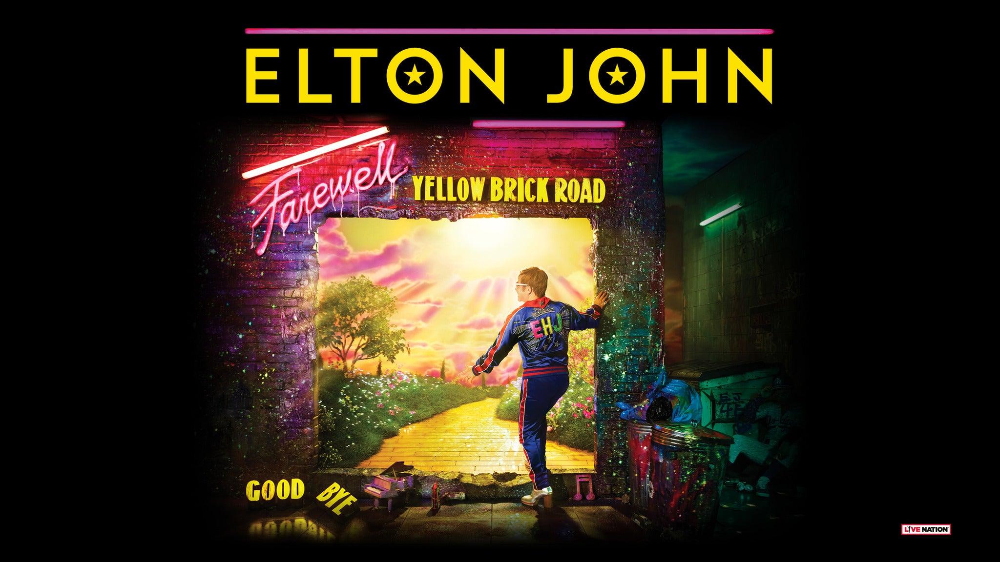 Elton John: Farewell Yellow Brick Road at Amalie Arena