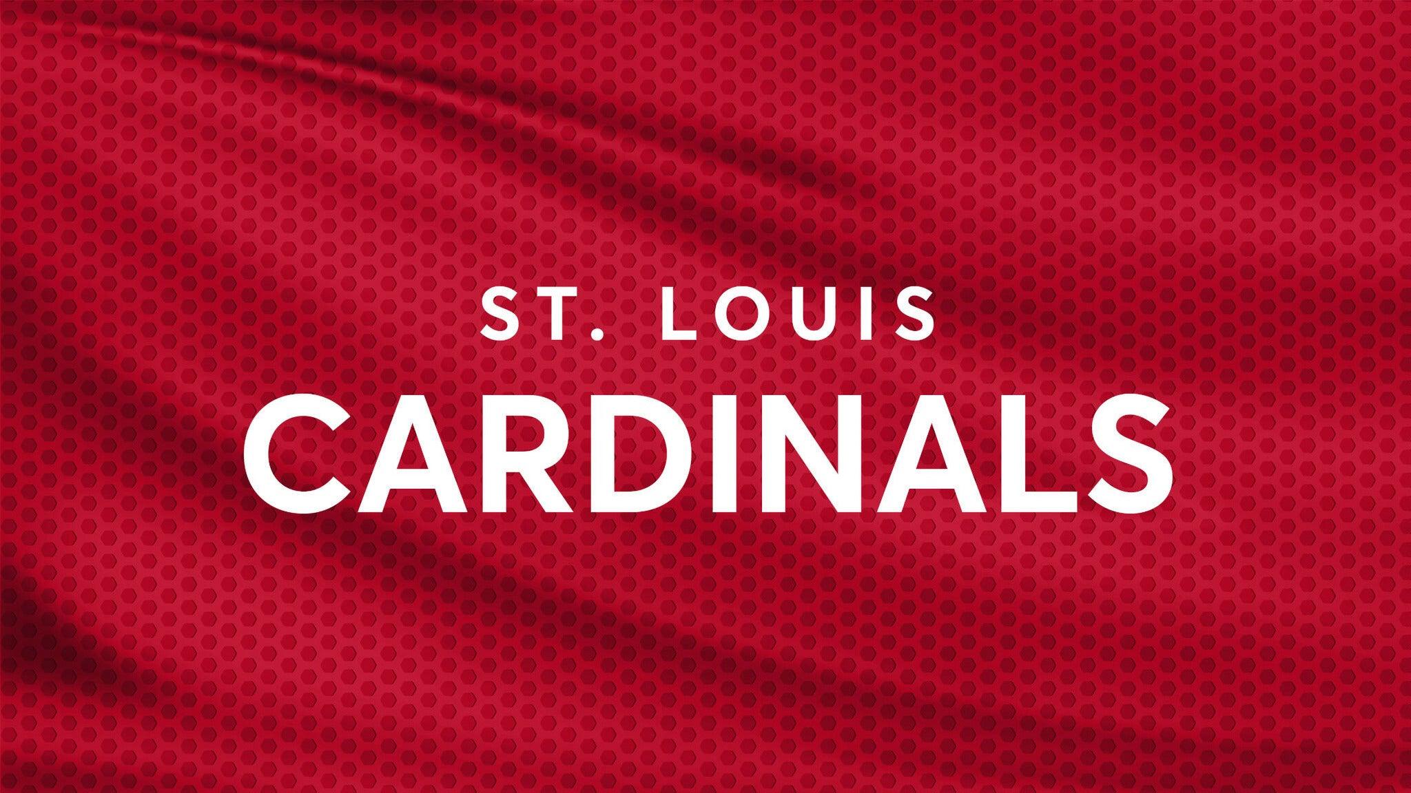 St. Louis Cardinals vs. Kansas City Royals
