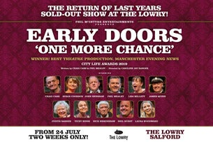 Early Doors Seating Plan The Lowry