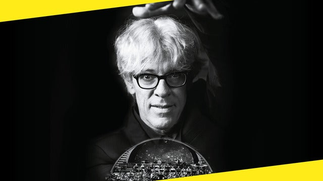 Stewart Copeland Lights up the Orchestra Seating Plans