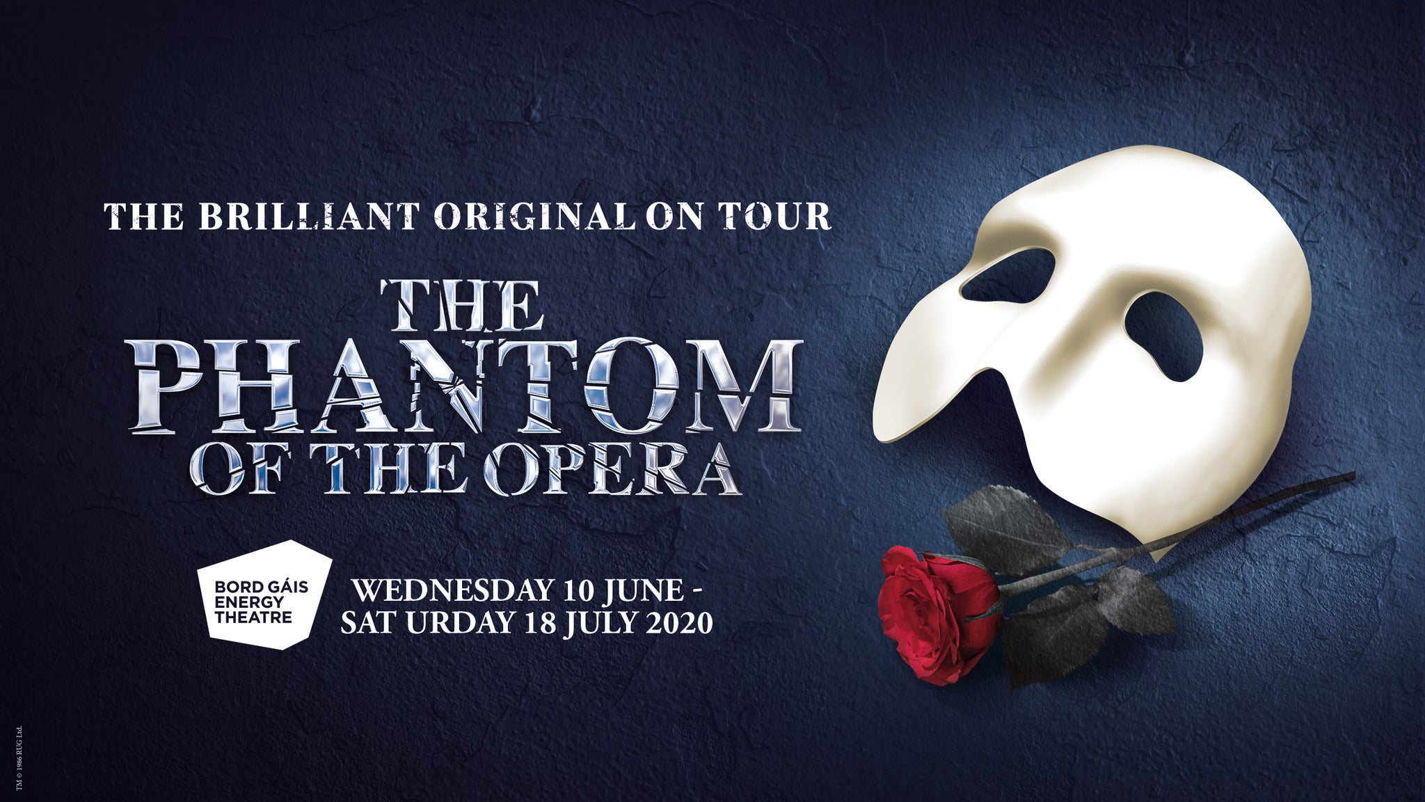 The Phantom of the Opera tickets (Copyright © Ticketmaster)
