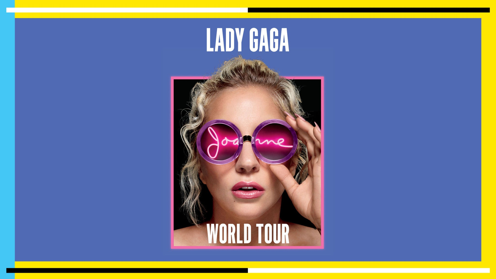 Lady Gaga Joanne World Tour at Mohegan Sun Arena - Uncasville, CT 06382