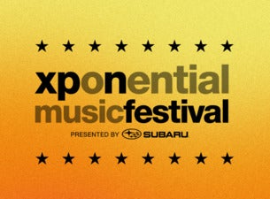 Xponential Music Festival Single Day Pass