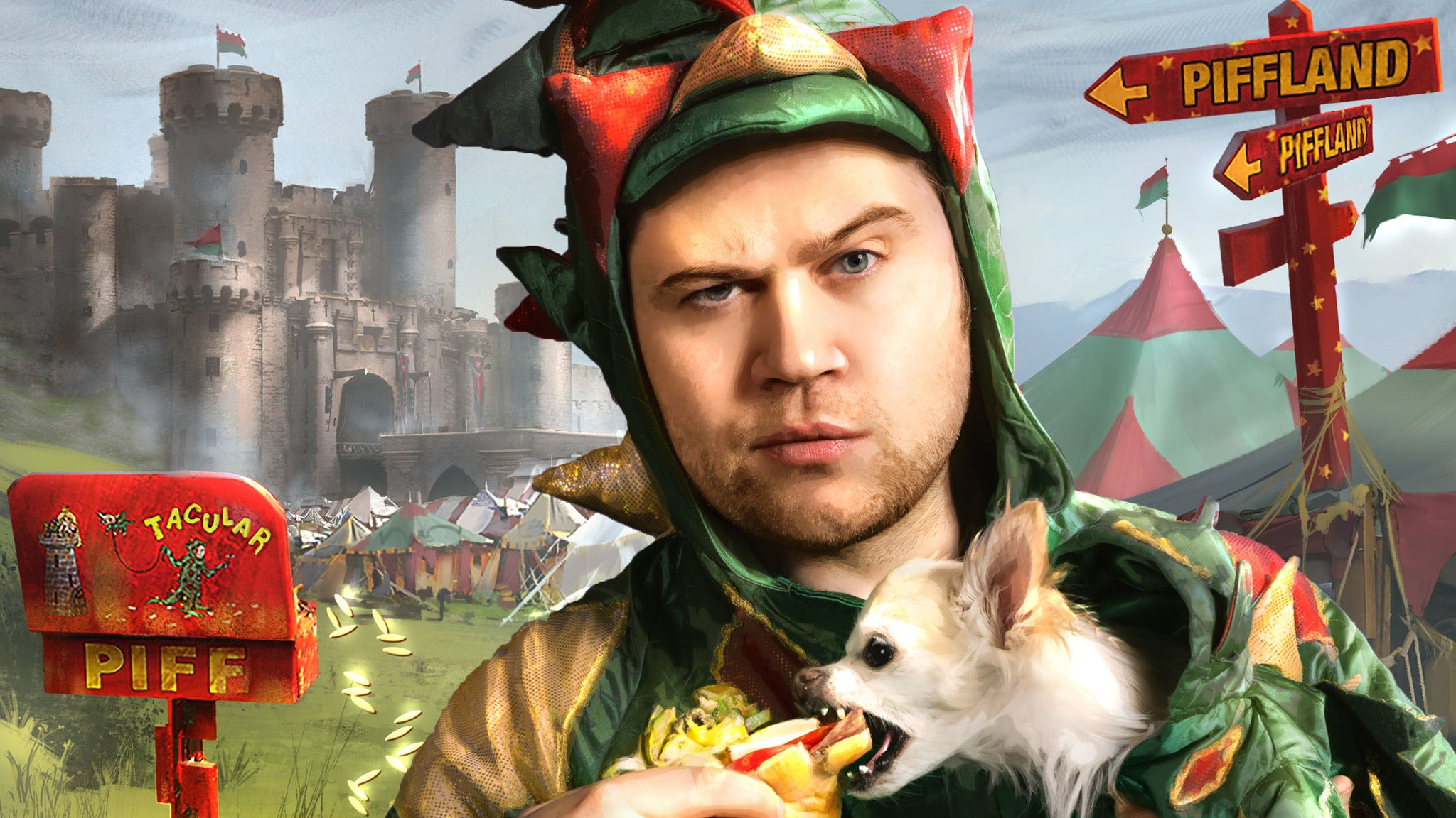 Piff the Magic Dragon at IP Casino Resort and Spa