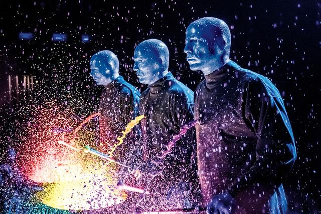 Blue Man Group Las Vegas | Las Vegas, NV | Blue Man Theater at Luxor | December 10, 2017