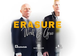 Erasure - World Be Gone Tour