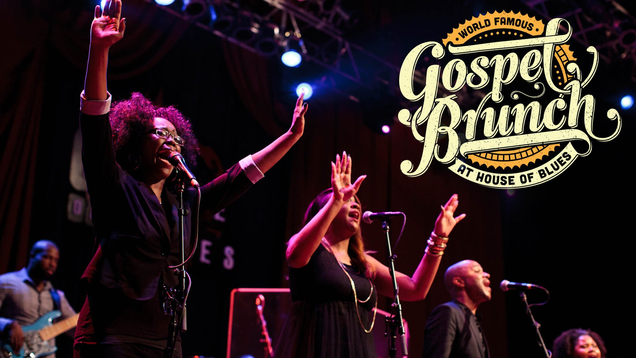 SORRY, THIS EVENT IS NO LONGER ACTIVE<br>World Famous Gospel Brunch at House of Blues - Orlando, FL 32830