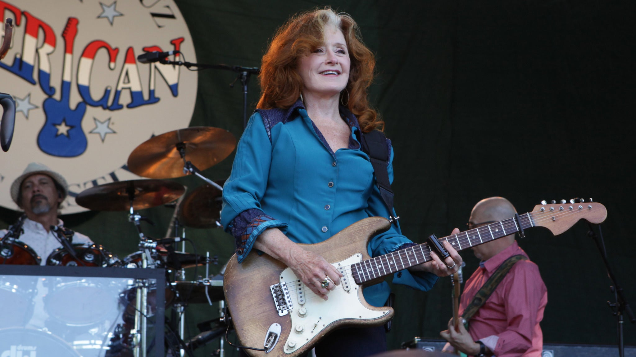 Bonnie Raitt at Redding Civic Auditorium