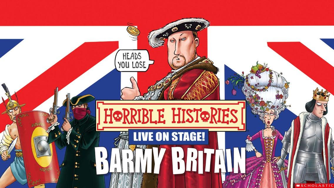 Horrible Histories - Gorgeous Georgians & Vile Victorians Event Title Pic