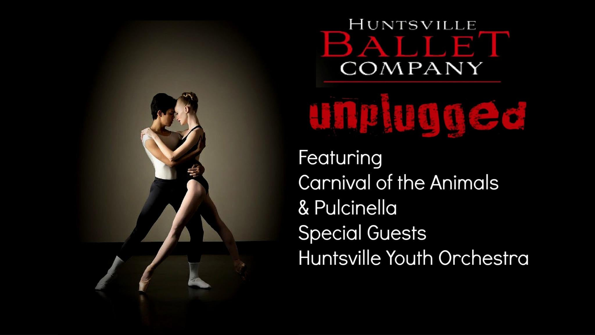 SORRY, THIS EVENT IS NO LONGER ACTIVE<br>Huntsville Ballet Company at Von Braun Center Concert Hall - Huntsville, AL 35801