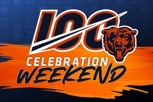 Bears 100 Celebration 3 Day Weekend Pass