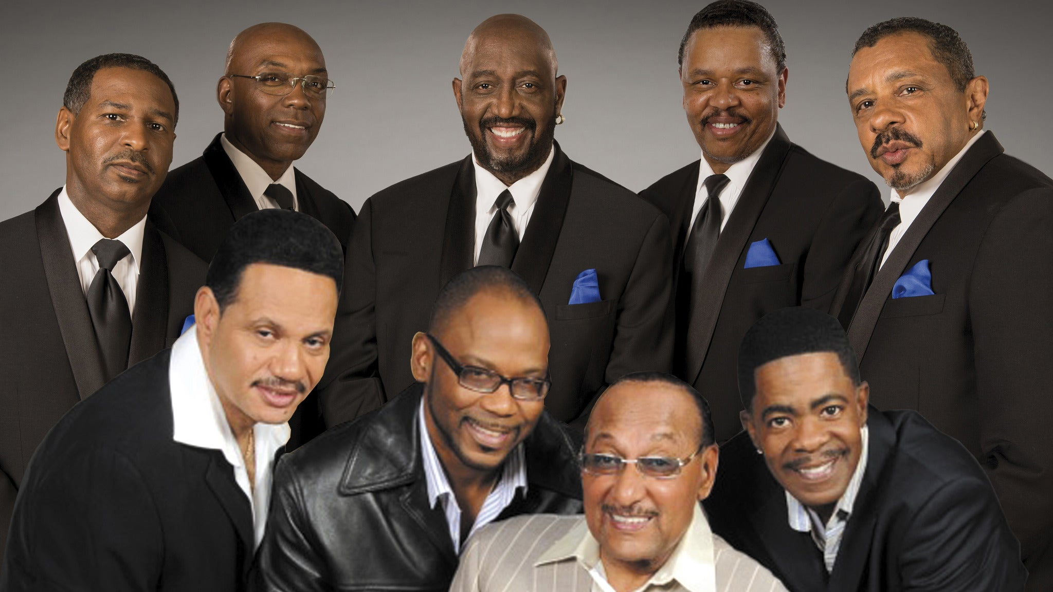 The Four Tops and Temptations tickets (Copyright © Ticketmaster)