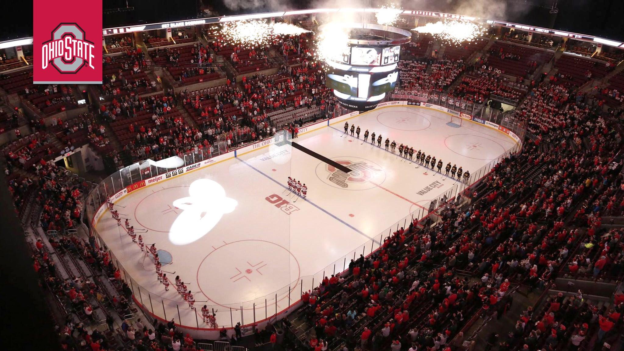 Ohio State Buckeyes Mens Hockey vs. Notre Dame Men's Hockey