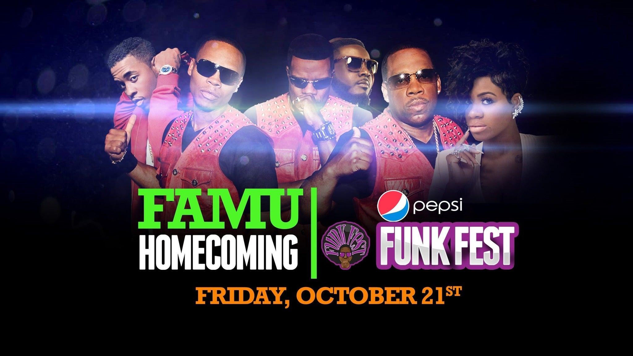 Famu Homecoming Funk Fest at FAMU Bragg Memorial Stadium