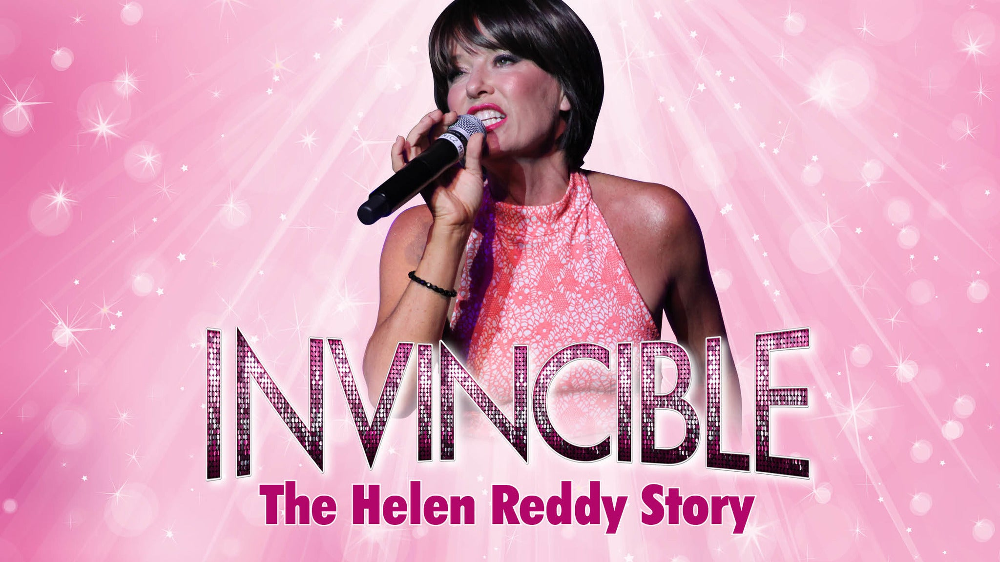 Image used with permission from Ticketmaster | Invincible: The Helen Reddy Story tickets