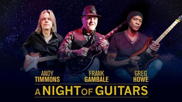 Legendary jazz-fusion guitarist FRANK GAMBALE with DENNIS CHAMBERS, SEAN WAYLAND & MIKE POPE
